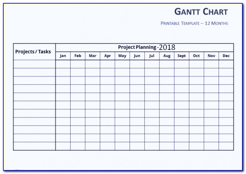 Download Gantt Chart Template Excel 2010