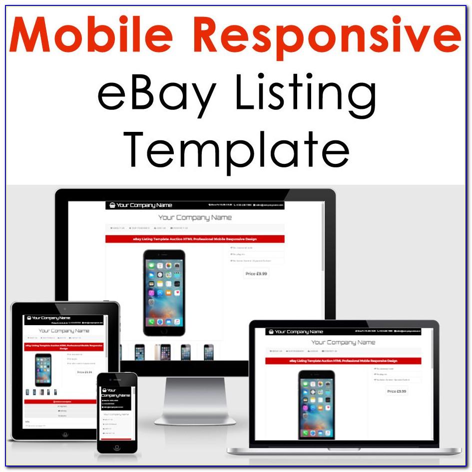 Ebay Listing Template Builder