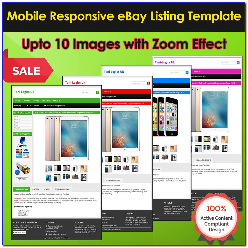 Ebay Listing Template Html Code