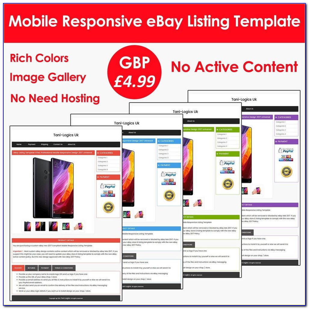 Ebay Listing Template Tutorial