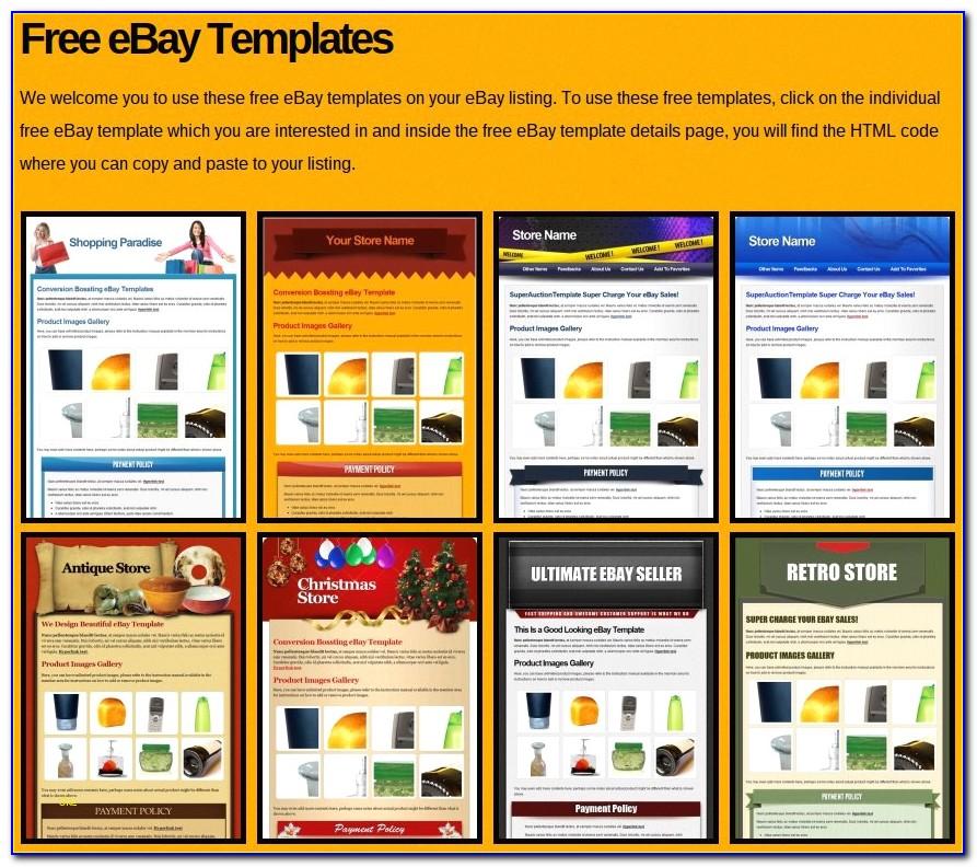 Free Ebay Store Templates Lovely Free Ebay Templates