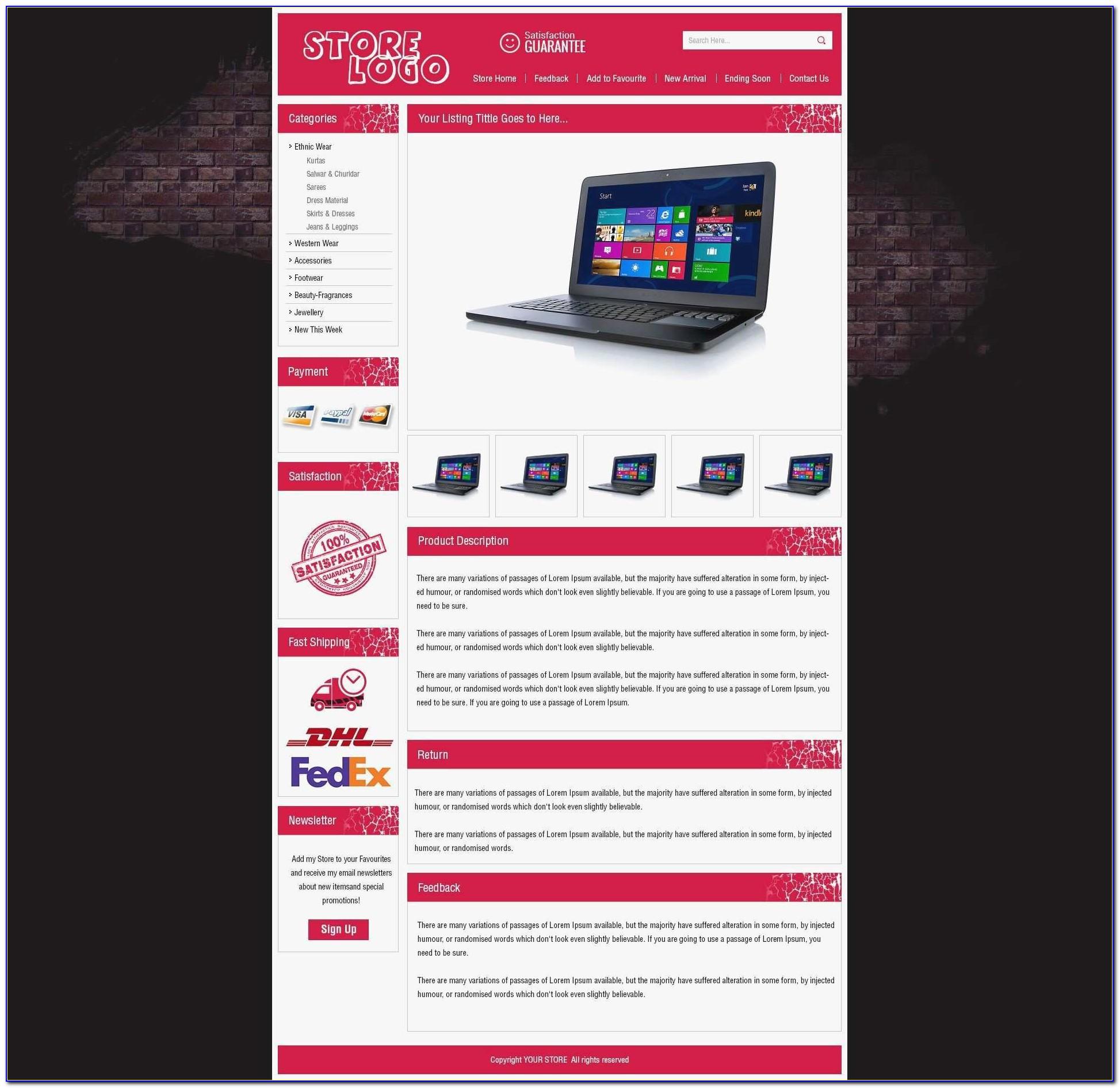 Free Ebay Store Templates Download Unique Subcontractor Invoice Template Ninocrudele Invoice Templates Ebay