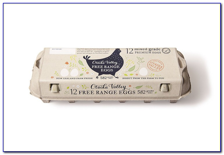 Otaika Valley Eggs Label Design