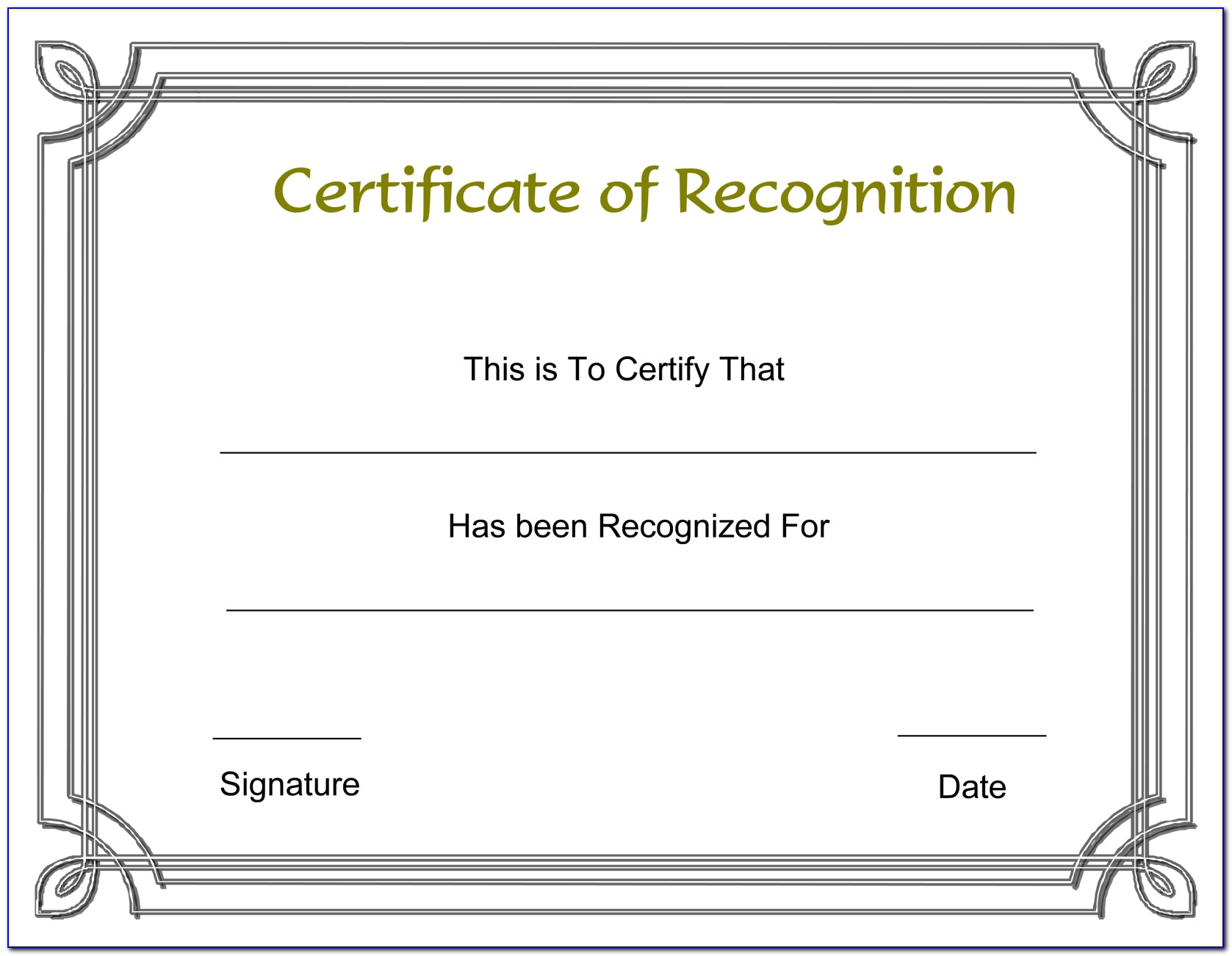 Employee Appreciation Certificate Format