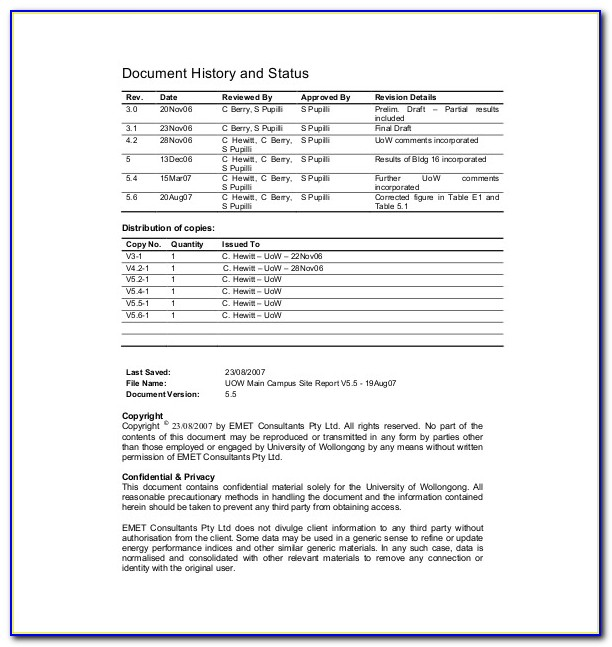 Energy Audit Report Format India