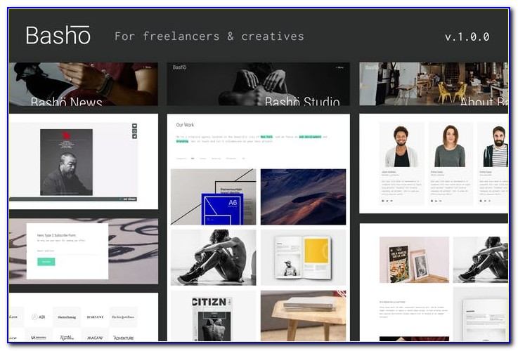 Envato Free Web Templates