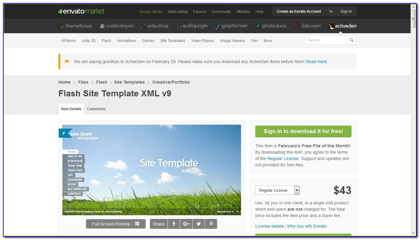 Envato Website Templates Free Download