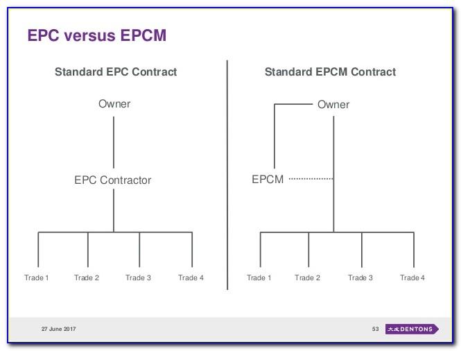 Epcm Contract Form