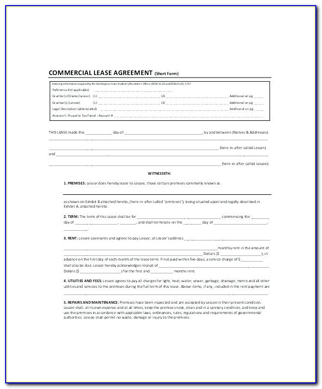 Farm Lease Agreement Template Free
