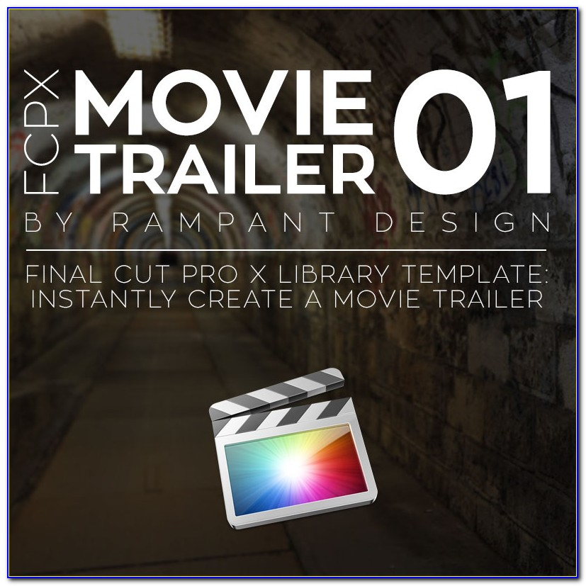 Final Cut Pro X Slideshow Template
