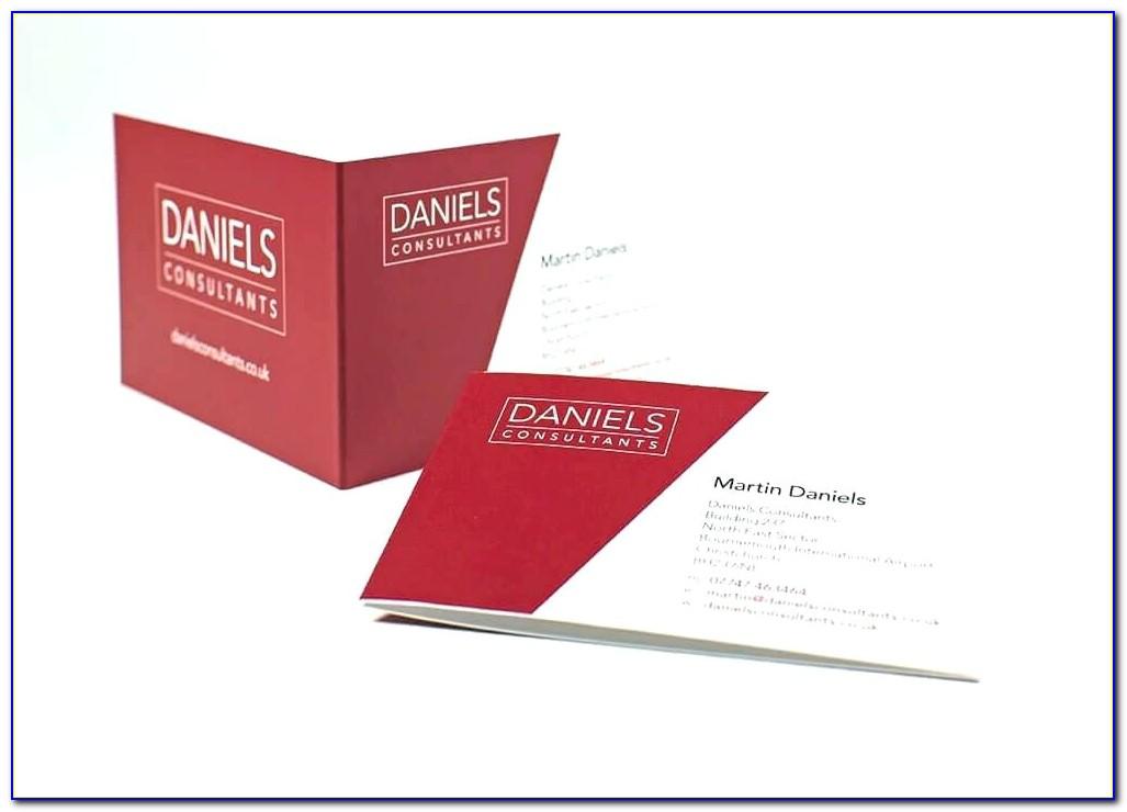 Foldable Business Card Template Grossartig Fold Over Business Card Template Bilder