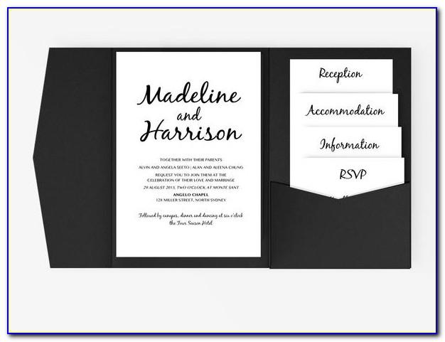 Folded Invitation Designs