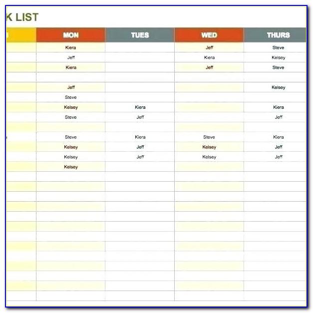 Forklift Truck Checklist Template