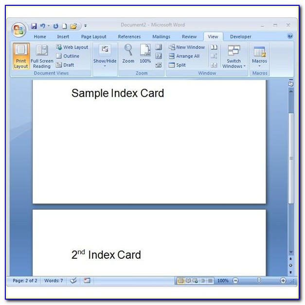 Free 4x6 Greeting Card Template
