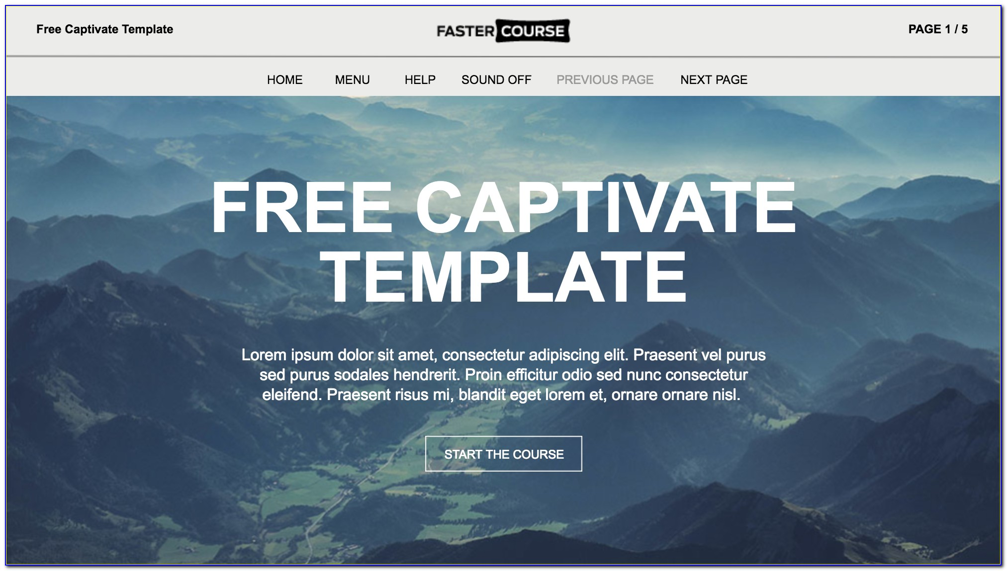 Free Adobe Captivate Templates Download