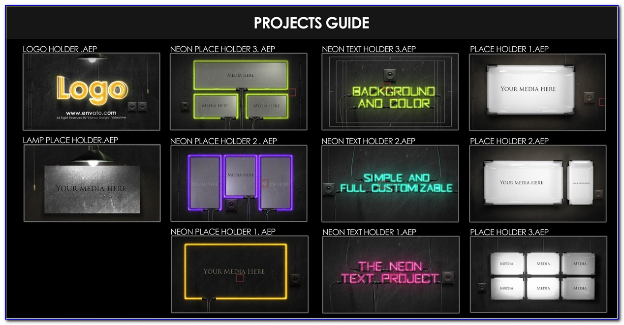 Free After Effects Template Project File Download