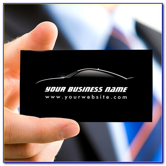 Free Automotive Business Card Templates Download