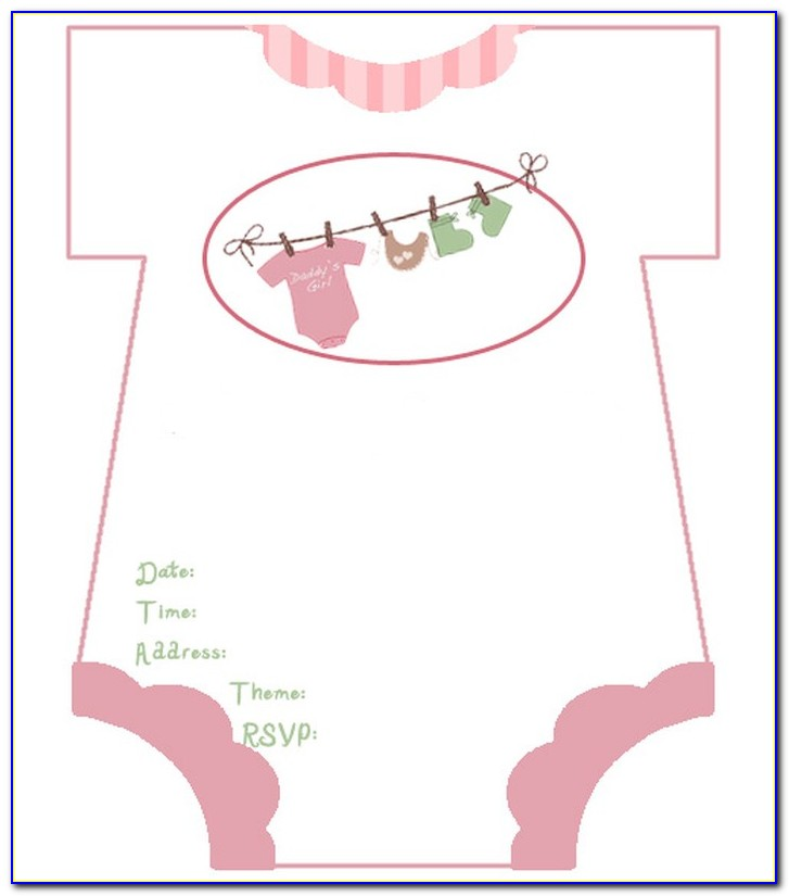 Free Baby Shower Invitation Templates Printable