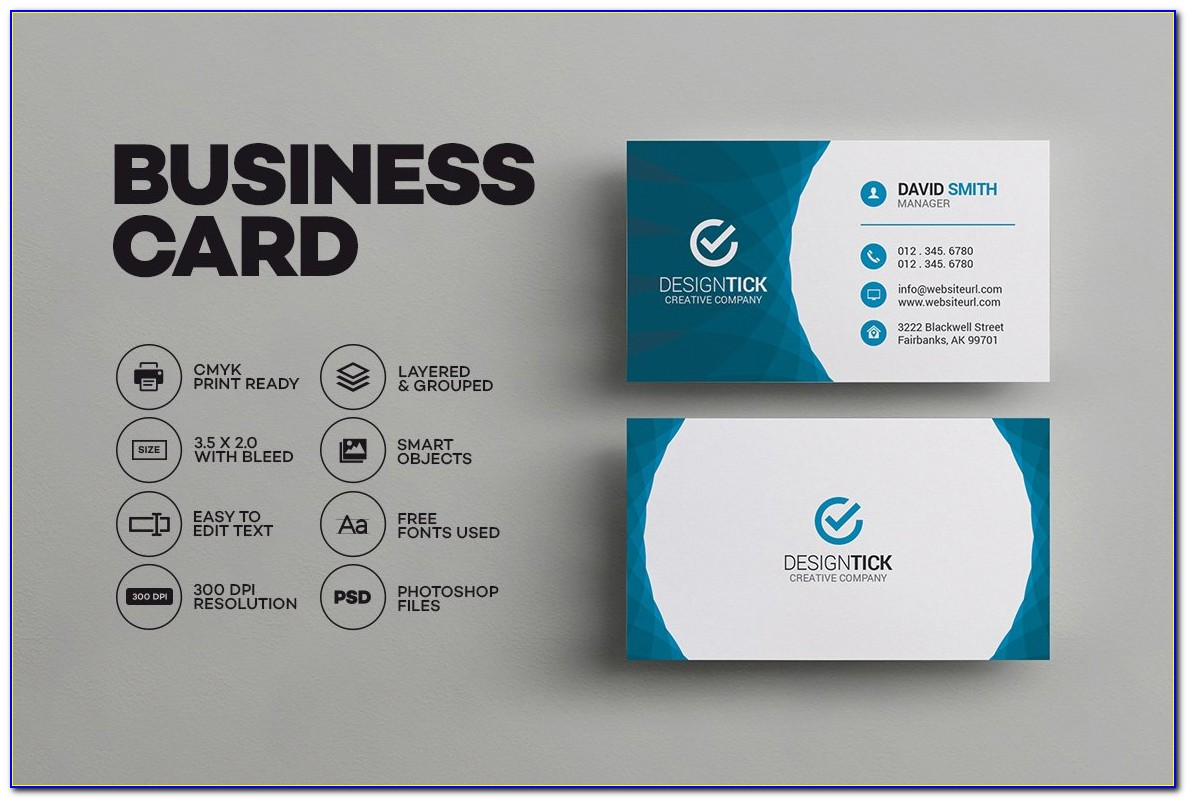 Free Business Card Templates Ai