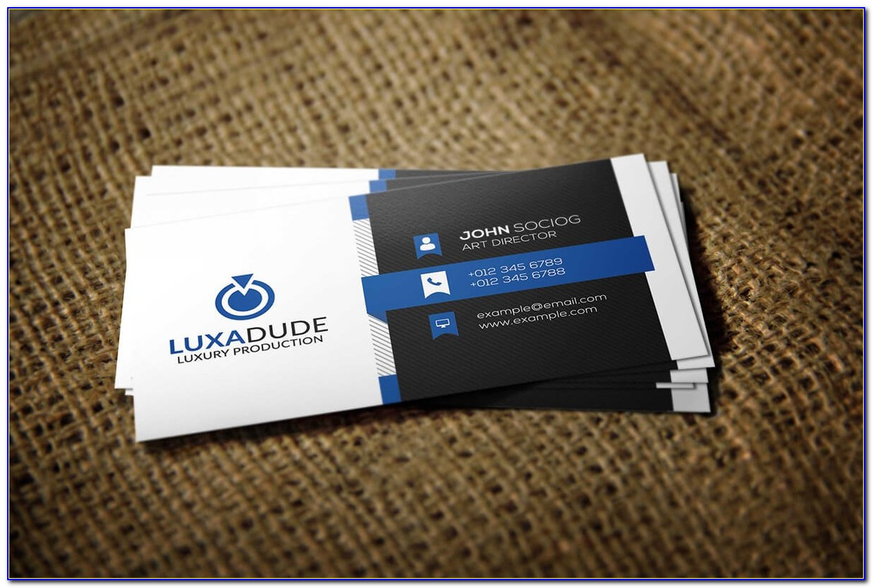 Free Business Card Templates Printable