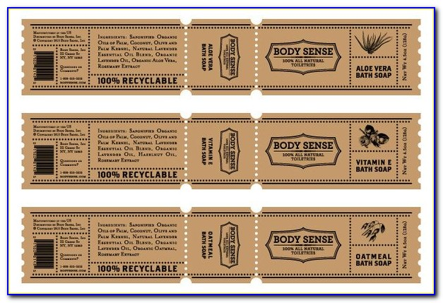 Free Cigar Band Template For Soap