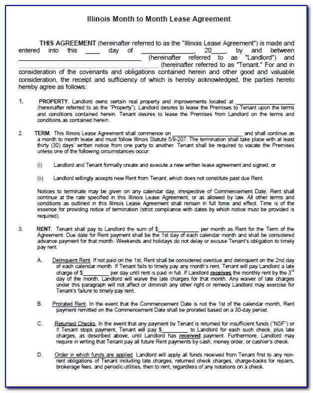 Free Commercial Property Rental Agreement Template
