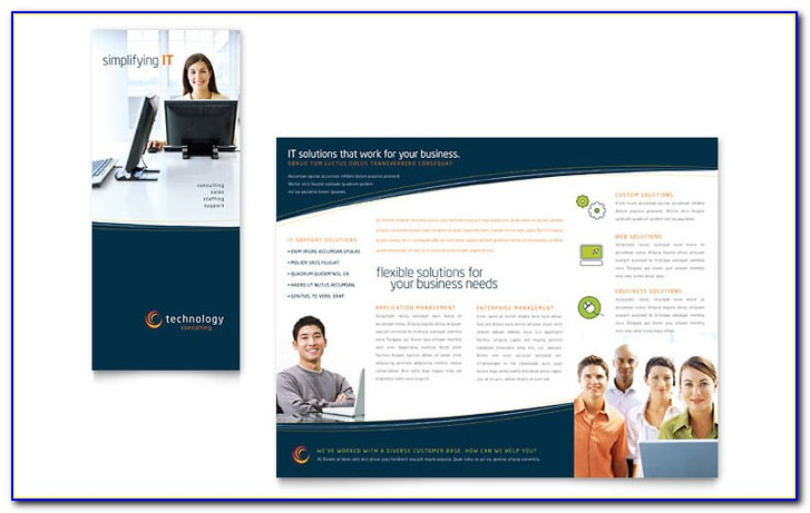 Free Corporate Tri Fold Brochure Template