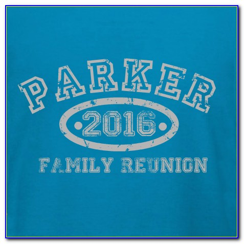 Free Family Reunion T Shirt Templates