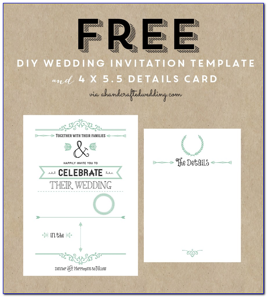 Free Invite Templates For Word