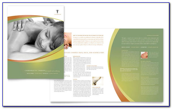 Free Massage Therapy Flyer Templates