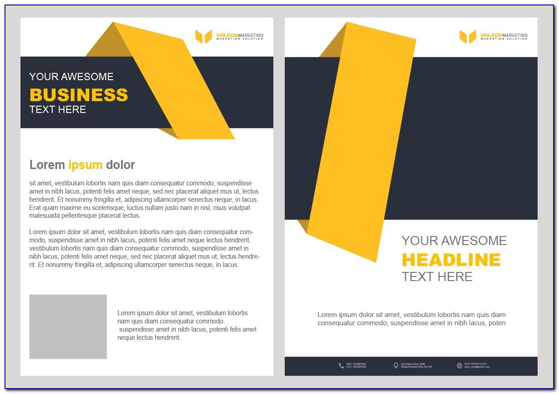 Free Online Mailer Design Templates