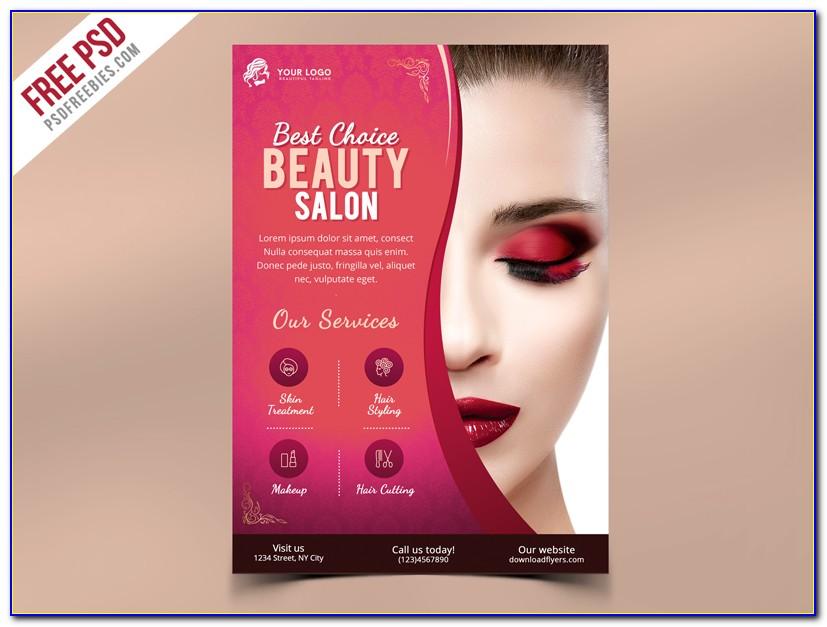 Free Printable Salon Flyer Template