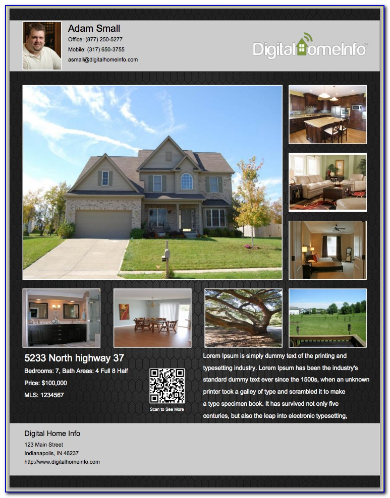 Free Real Estate Flyer Templates Download