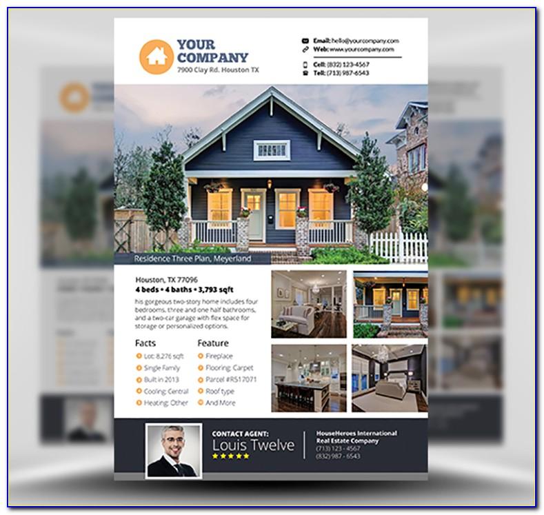 Free Real Estate Flyer Templates Pdf