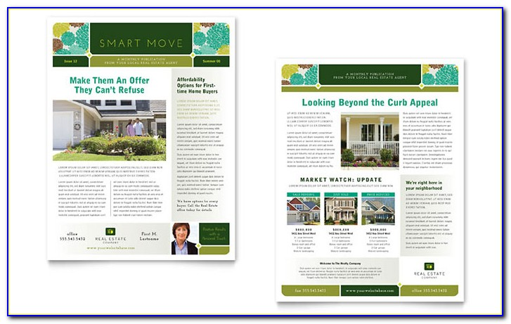 Free Real Estate Newsletter Templates