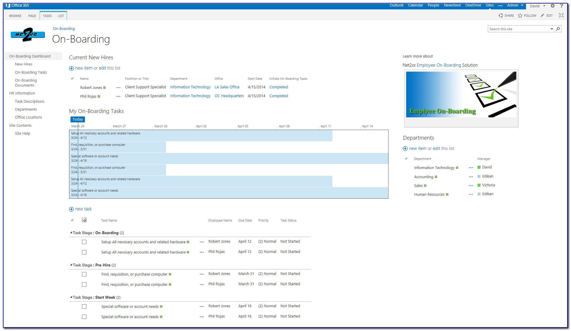 Free Sharepoint Hr Template