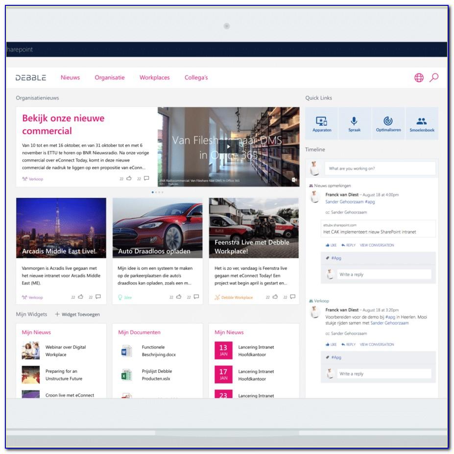 Free Sharepoint Portal Templates