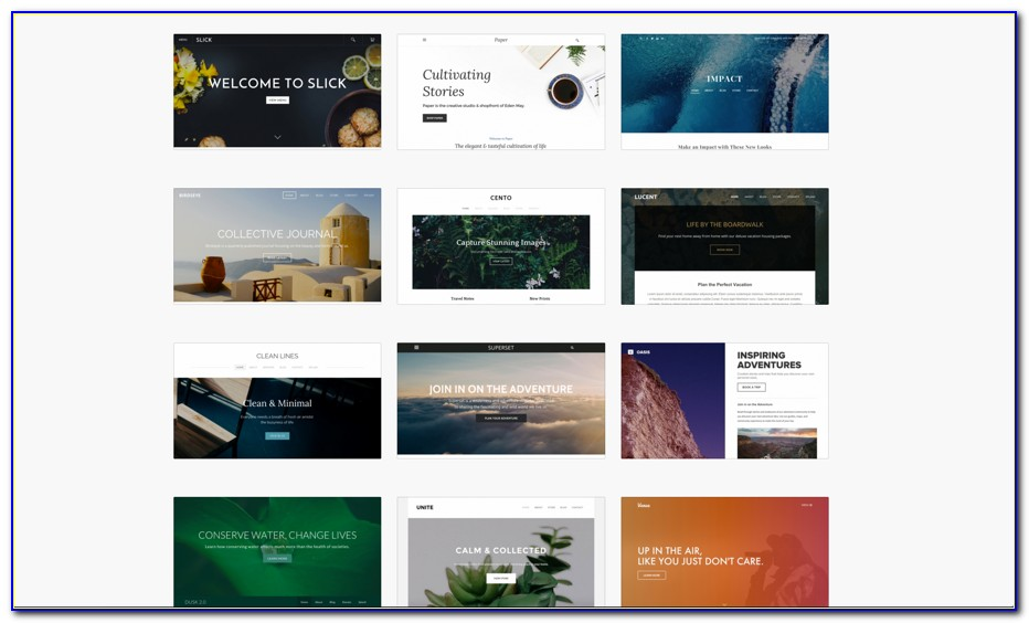Free Website Templates For Weebly