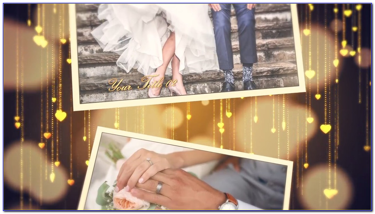 Free Wedding Photo Slideshow Template