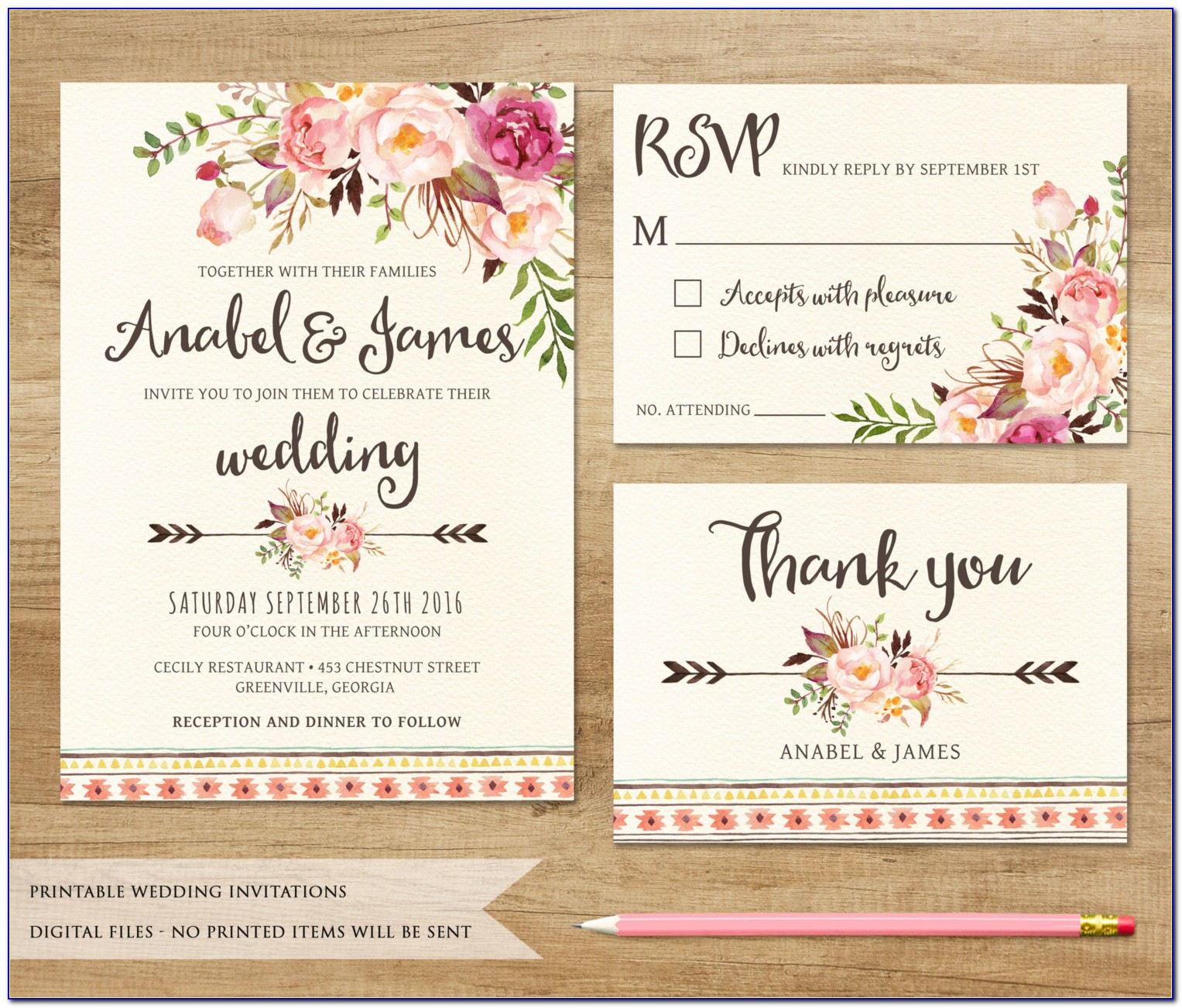 Free Wedding Reception Invitation Templates For Word