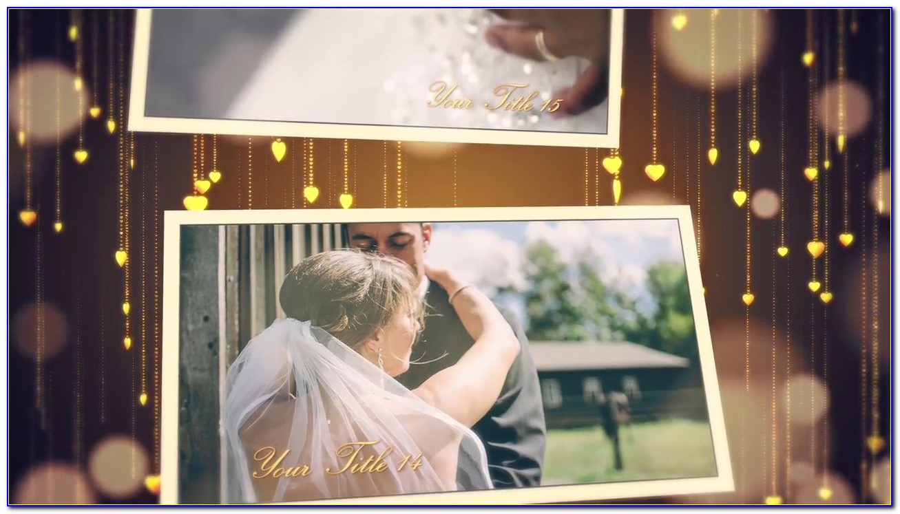Free Wedding Slideshow Template Premiere Pro