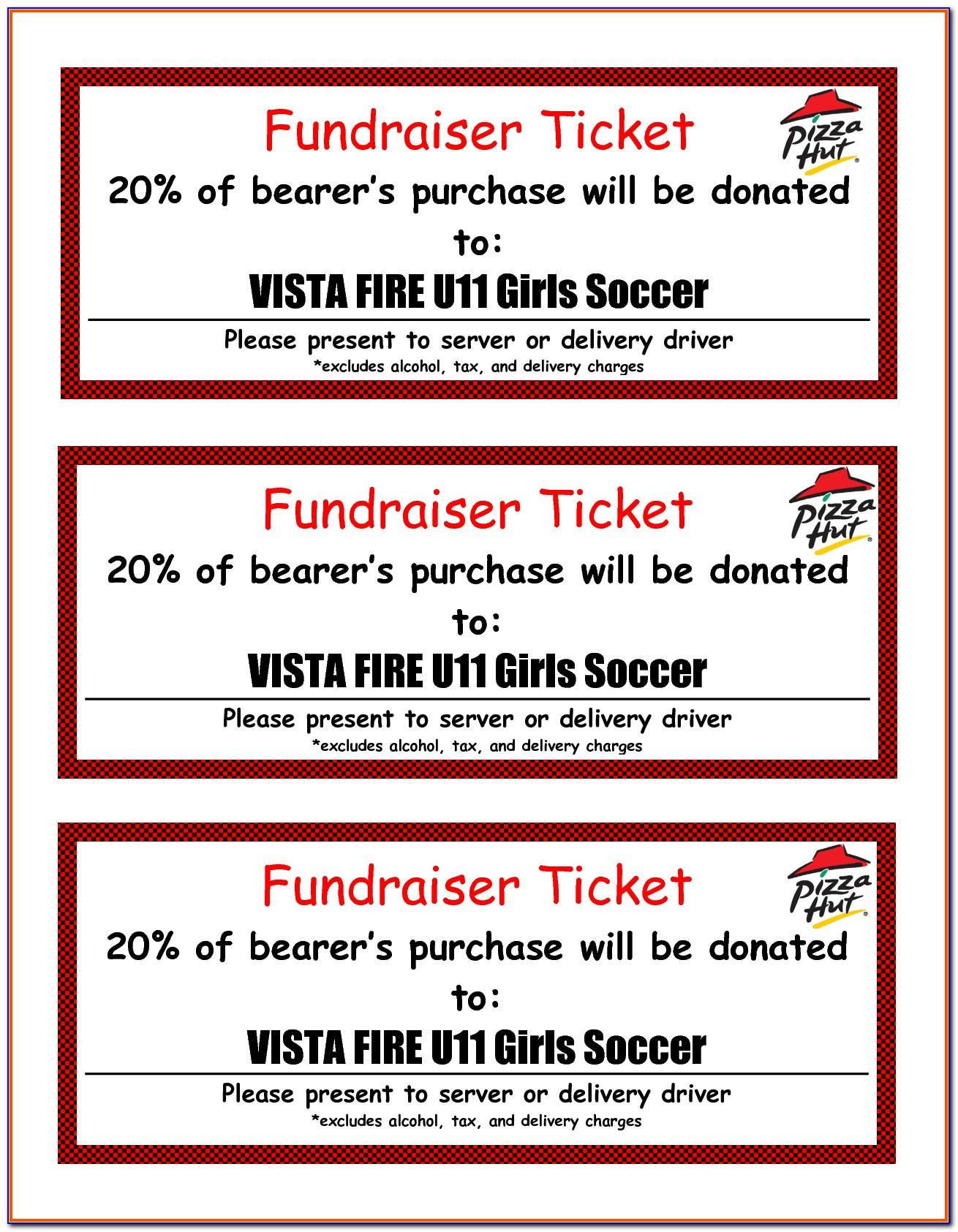 Fundraising Tickets Templates