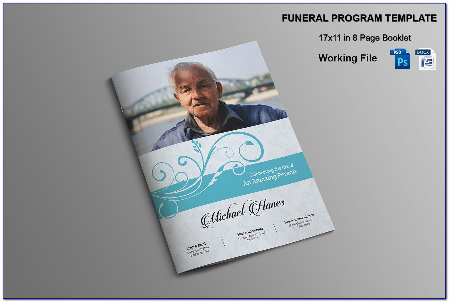 Funeral Booklet Template Catholic