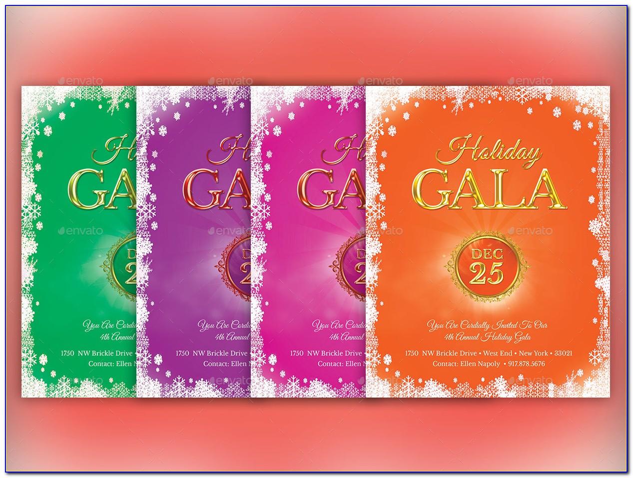 Gala Invitation Designs