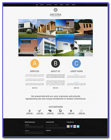General Contractor Web Template