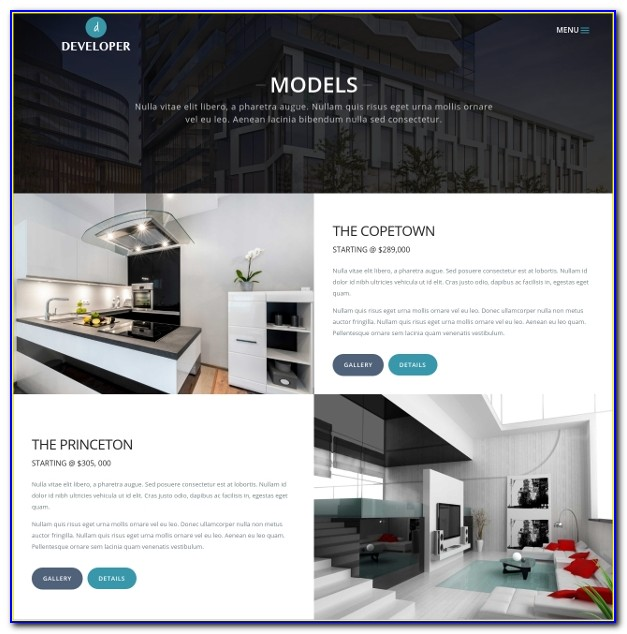 General Contractor Website Templates