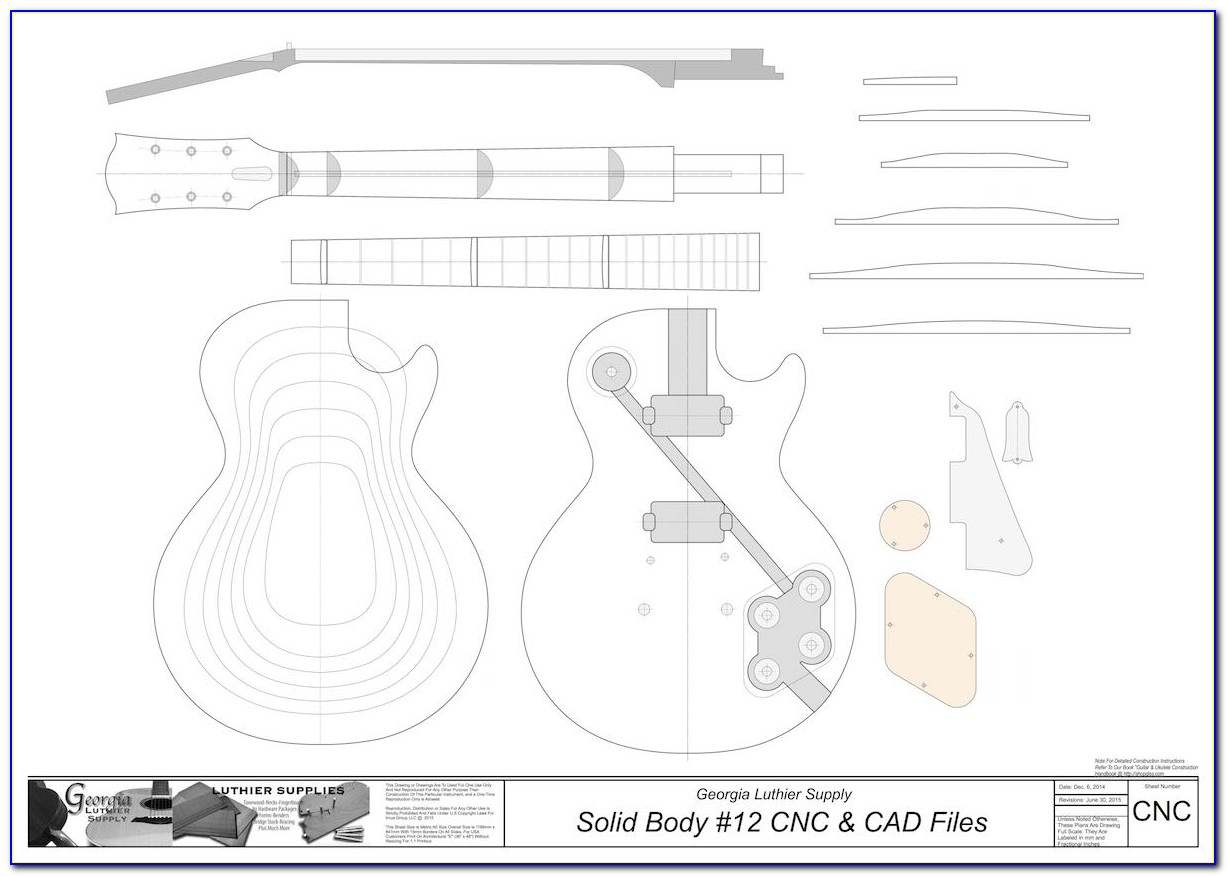 Gibson Les Paul Headstock Template Printable