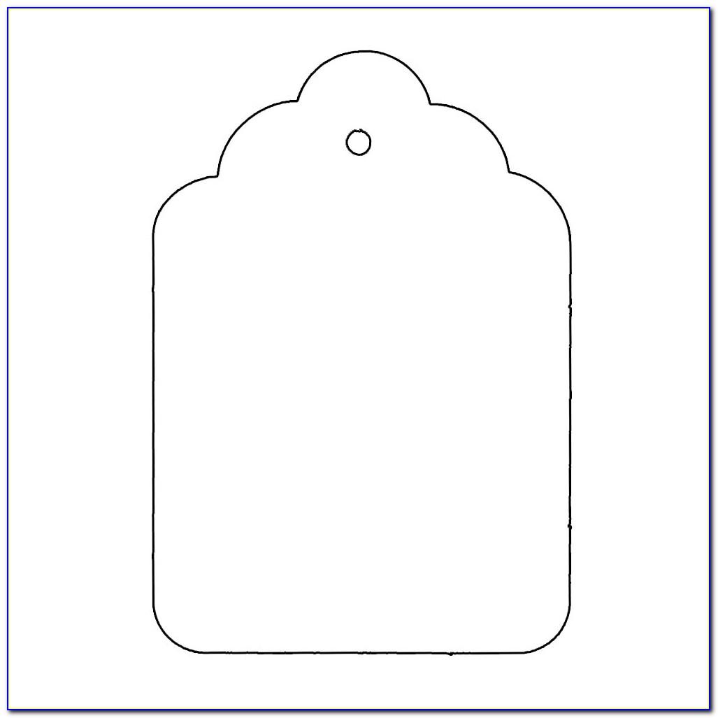 Gift Bag Tag Templates Free