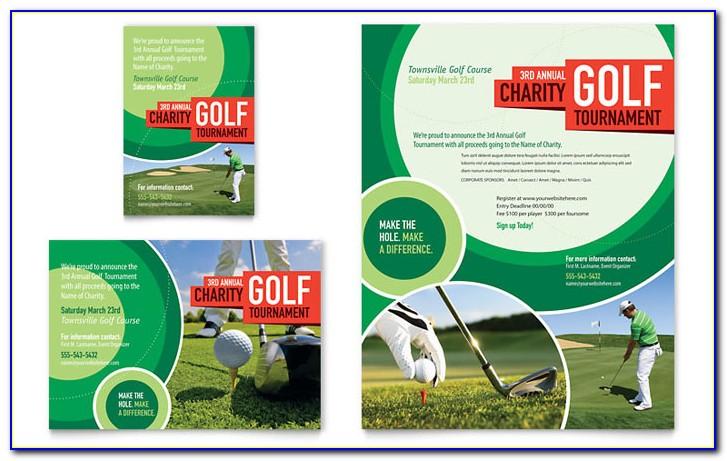 Golf Tournament Flyer Template Free