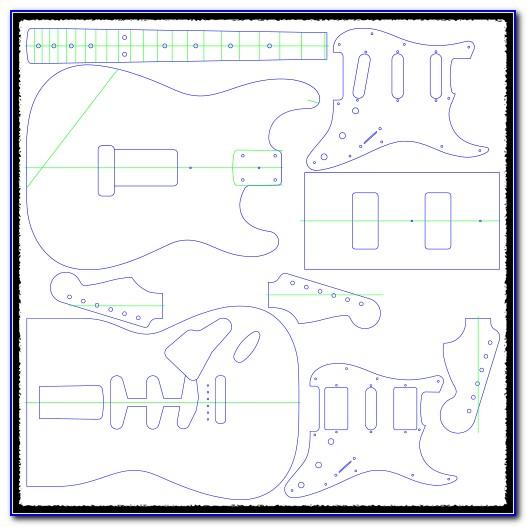 Guitar Pickup Routing Templates Uk